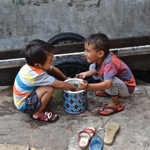 Vrijwilligerswerk in indonesië
