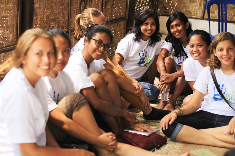 vrijwilligerswerk team