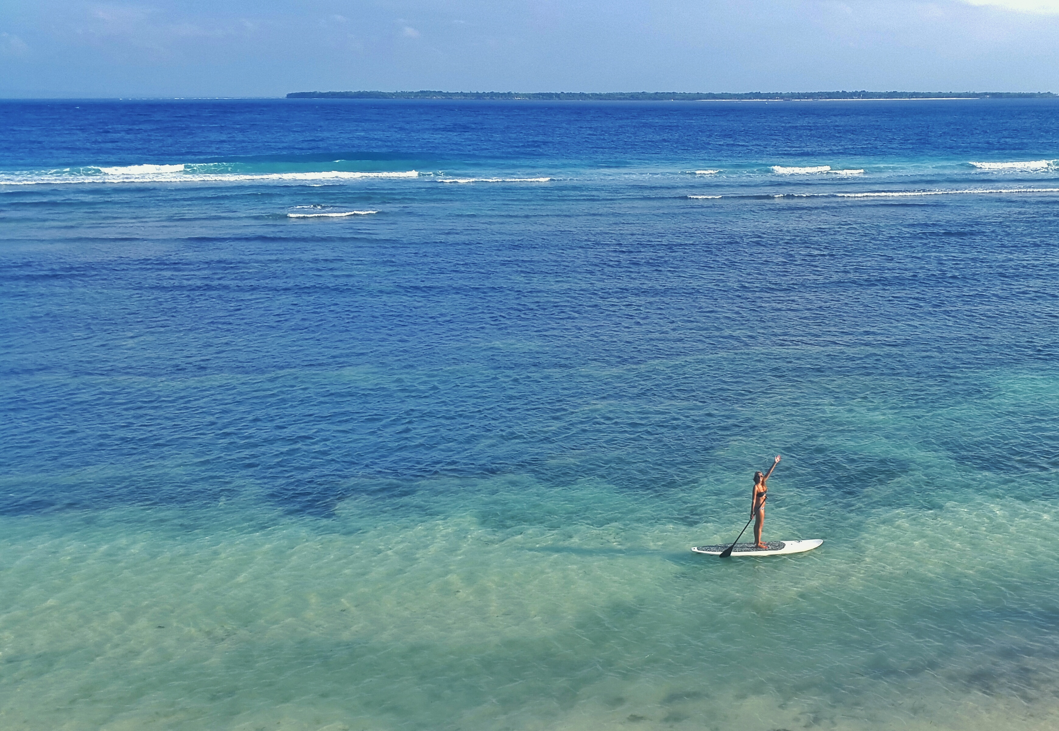 photo stand up paddling reizen